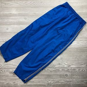 VTG Nike Blue Windbreaker Track Pants Men's XXL F6